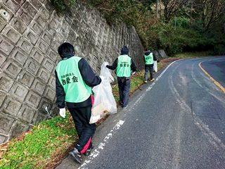 感謝のクラクション(県道クリーン作戦)